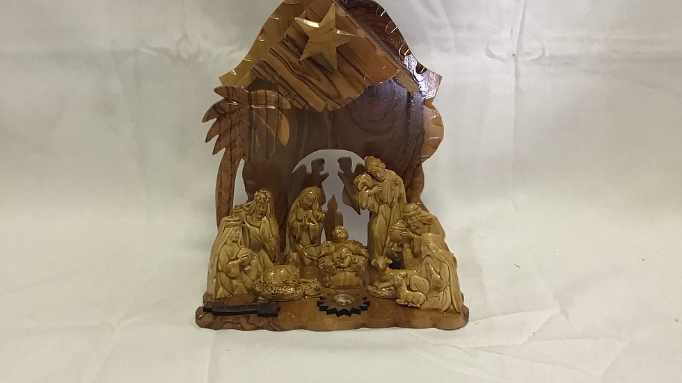 9in Nativity Set