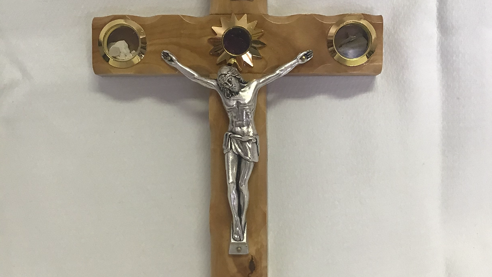 30cm Olive Wood Cross
