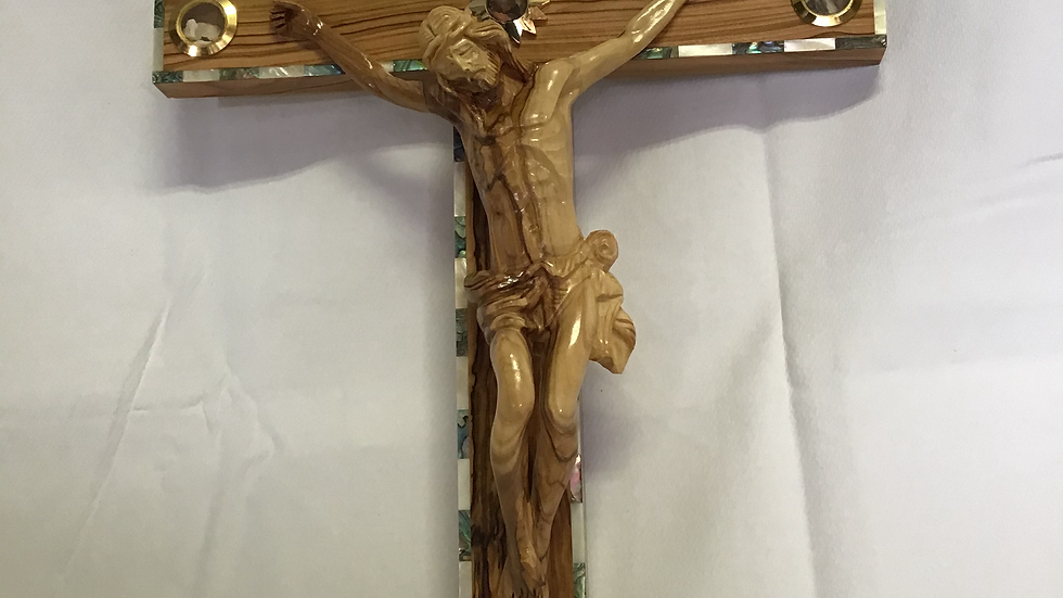 50cm Olive Wood Cross
