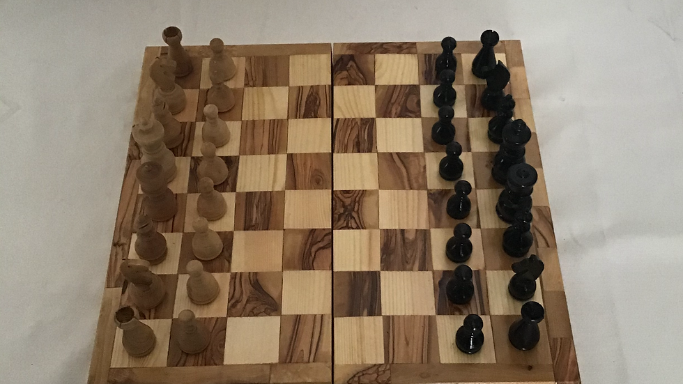 Designed 15.75in Chess