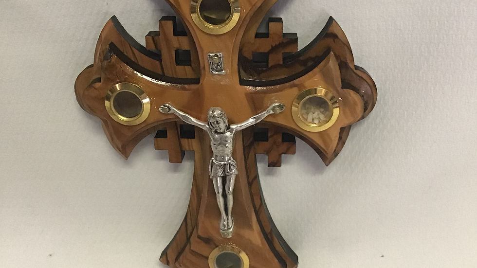 14cm Jerusalem Cross