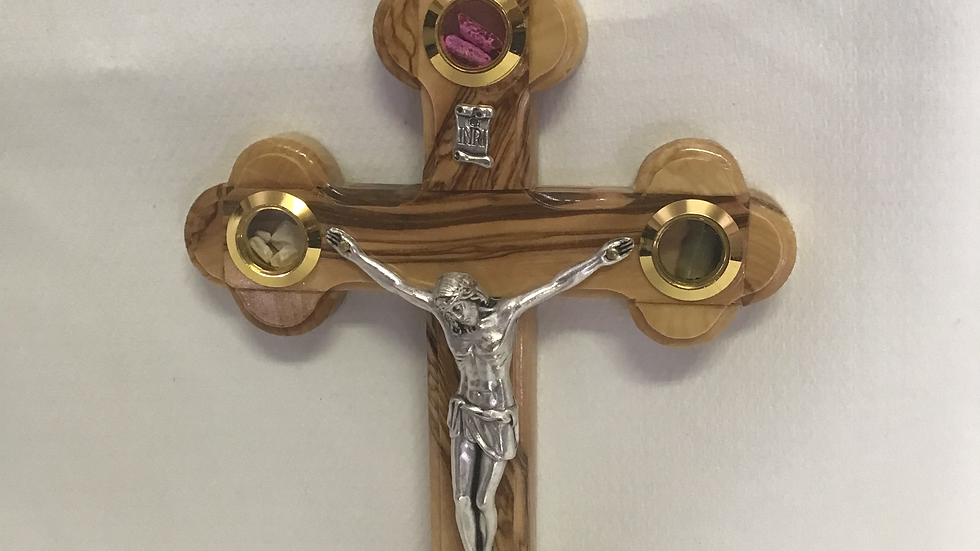 18cm Olive Wood Cross