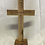 Thumbnail: Standing 24.5cm Olive Wood Cross