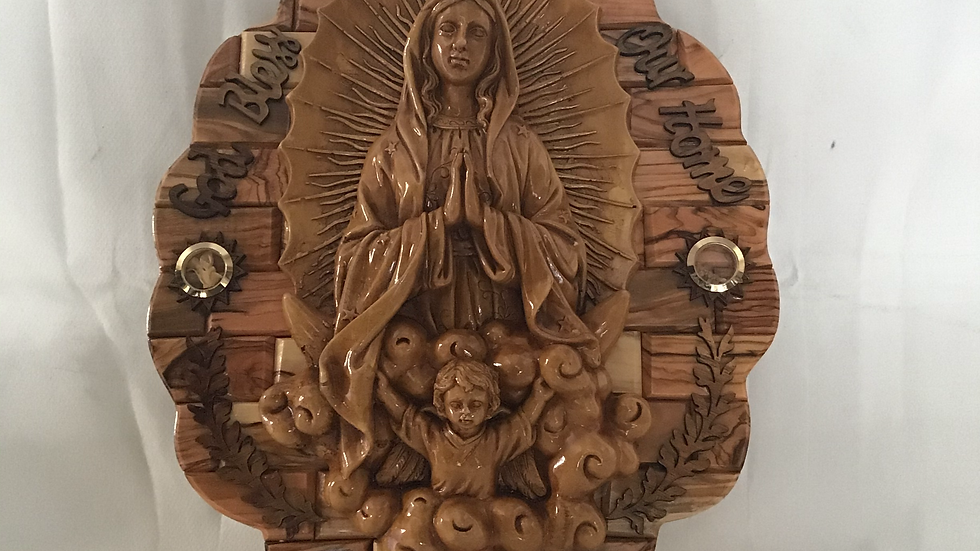 Our Lady of Guadalupe-Oval