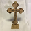 Thumbnail: Standing 17.5cm Olive Wood Cross