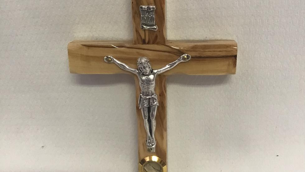 12cm Olive Wood Cross