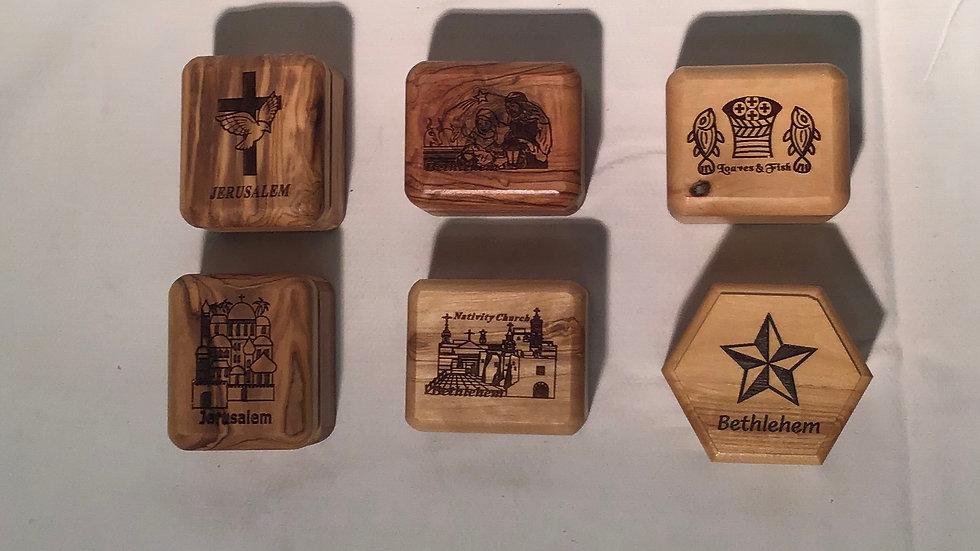 Olive Wood Jewelry Box