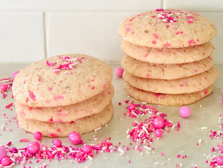 Pink Ombre Sugar Cookies