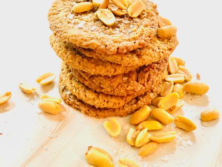 The Easiest 5-Ingredients Peanut Butter Cookies