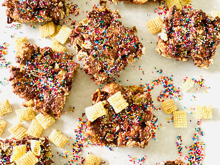 Cashew Butter Cereal Bars