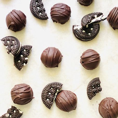Vegan Cookies & Cream Truffles