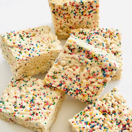 Vegan Rice Cereal Treats