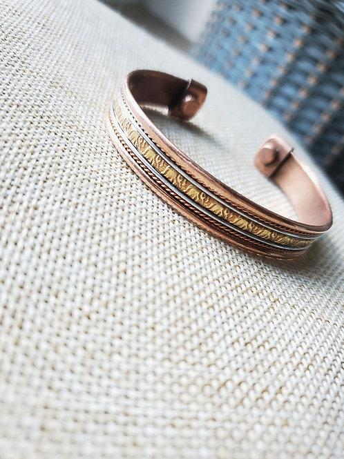 Elephant copper cuff