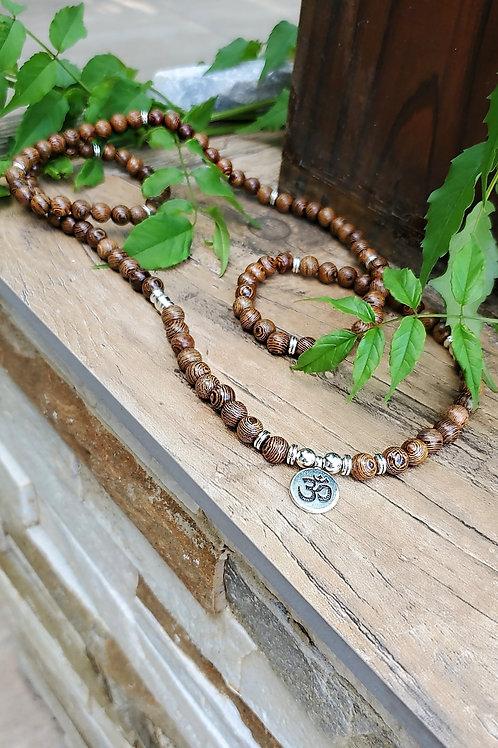 OM meditation beads