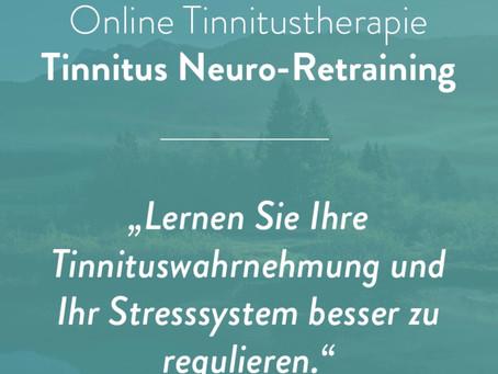 Online Trainingsprogramm: Tinnitus Neuro-Retraining
