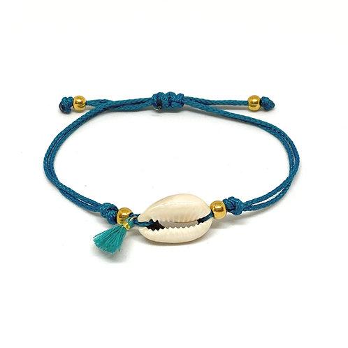 Simple Shell Tassle Bracelet