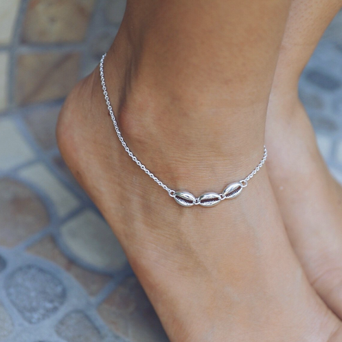 Triple Shell Anklet
