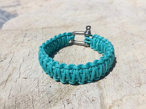 Paracord bracelet - Turquoise