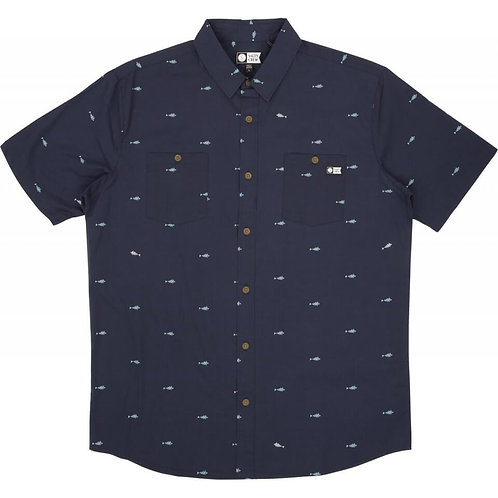 Provisions SS Woven Navy