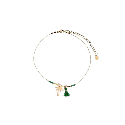 Anklet Palmtree Gold