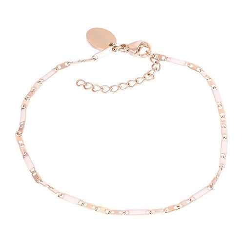 Bracelets Curacao (pink)18+3