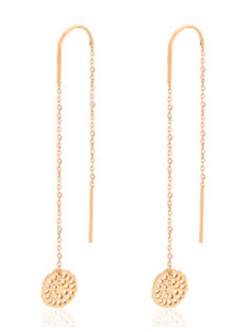 Mandala Rose Earrings