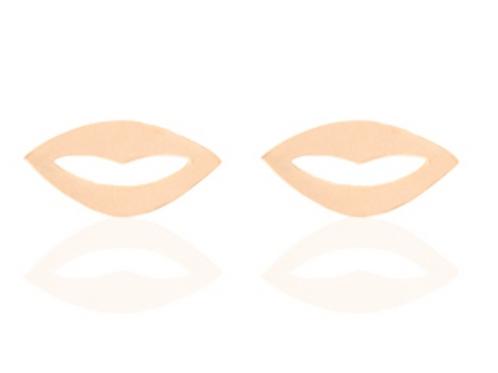 Kiss Kiss stainless steel earrings
