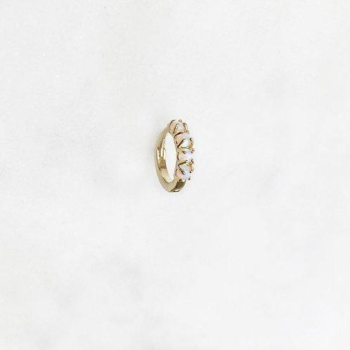Tiny Hoop Opal By☆Nouck