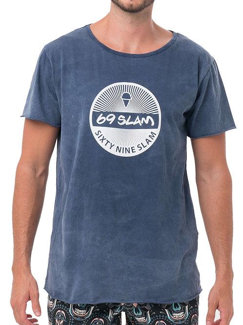 69 Slam Vintage Tee Blue