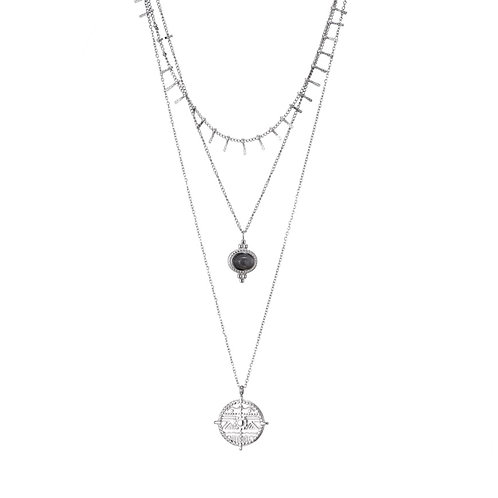 3 in 1 Necklace Silver
