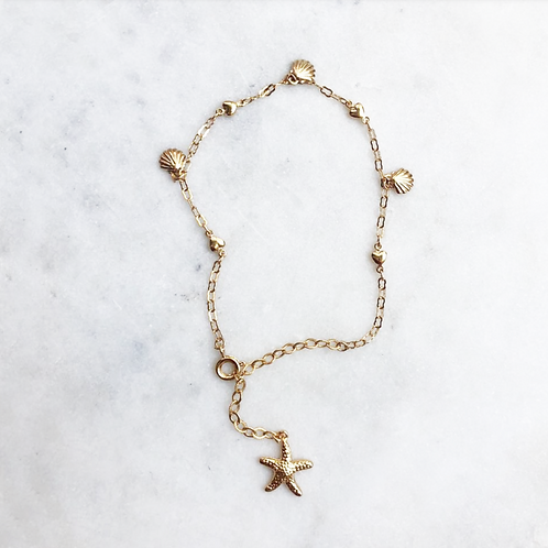 Starfish Anklet By☆Nouck