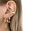 Thumbnail: Earring Double Opal Star By☆Nouck