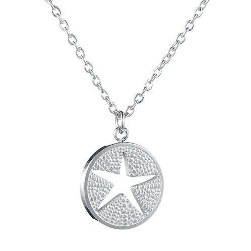 Starfish Necklace Silver