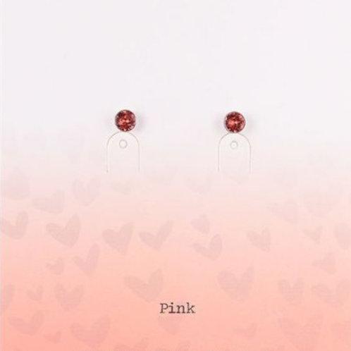 Wishdom Red Earstuds Rose