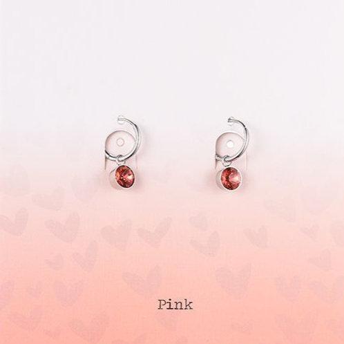 Wishdom Red Earrings Silver
