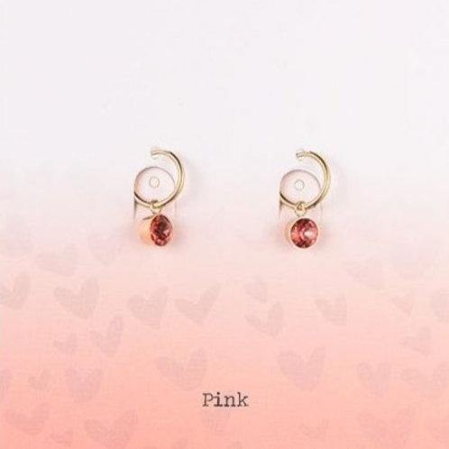 Wishdom Red Earrings Gold
