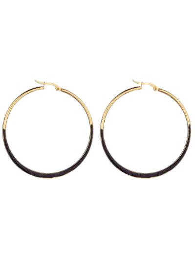 Hoops Black / Gold