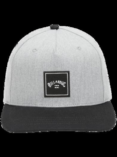 Stacked Snapback Grey