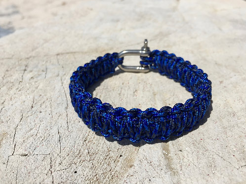 Paracord bracelet - Denim Blue