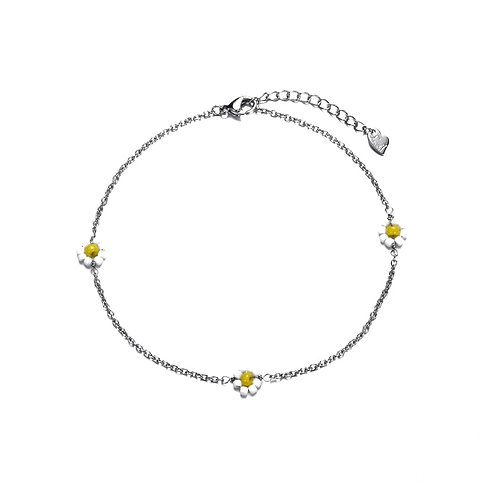 Daisy Bracelet Silver