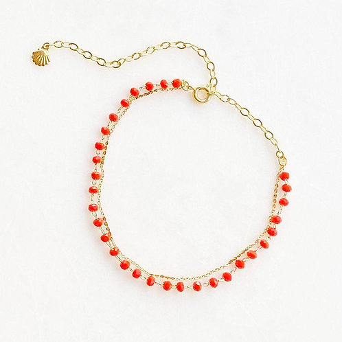 Red Anklet By☆Nouck
