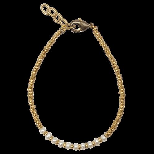 Stone Bracelet Pearls