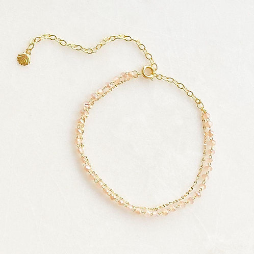 Pink Anklet By☆Nouck