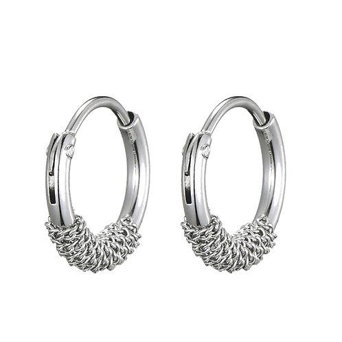 Chain Earrings Silver