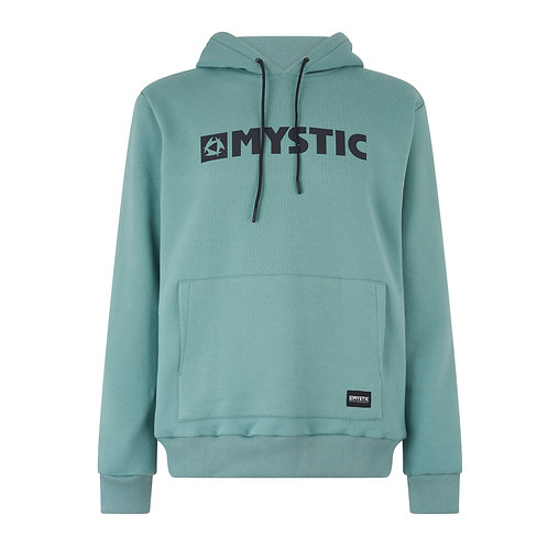 Brand Hood Sweat Ocean Green