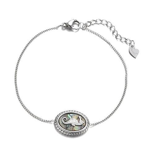 Seahorse Bracelet Silver