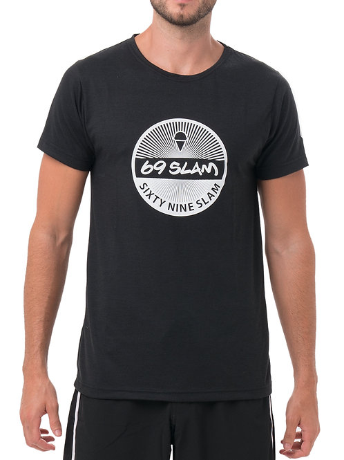 69 Slam Basic Tee Black