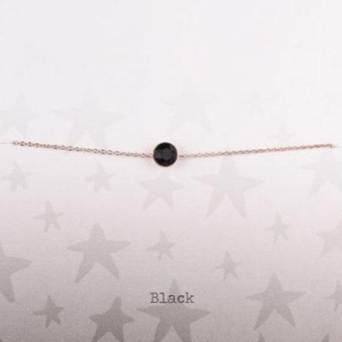 Wishdom Black Bracelet Rose