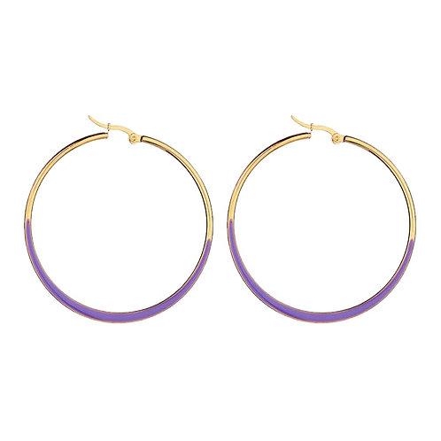 Hoops Purple / Gold