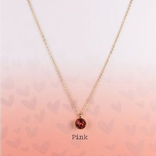 Wishdom Necklace Pink / Rose